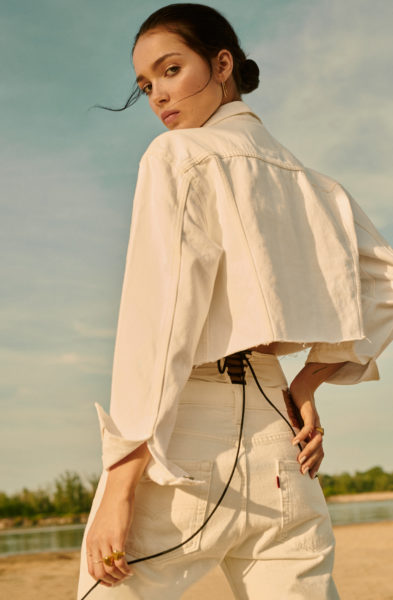 Fashion editorial shot by photographer Ala Wesolowska for Glamour Poland, August 2019