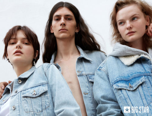 Big Star AW19 campaign styled by Janek Kryszczak