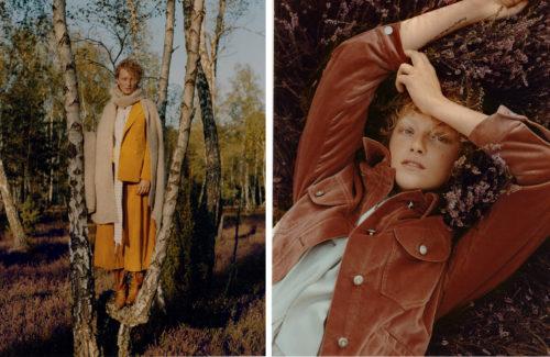 Fashion editorial for Uroda Zycia Mag