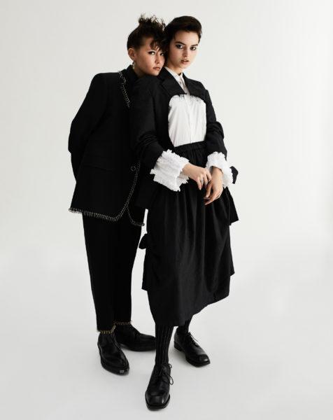 Fashion editorial for Wysokie Obcasy Extra and Pandora styled by Janek Kryszczak