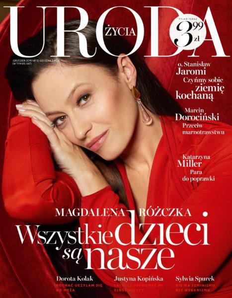 Portrait editorial of Magdalena Różczka for Uroda Życia Magazine