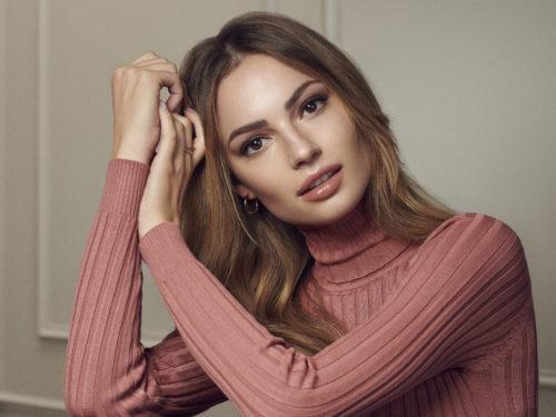 Beauty editorial makeup by Magdalena Winska