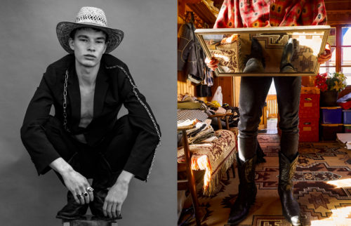 Mens fashion editorial for Client Magazine, print June 2019