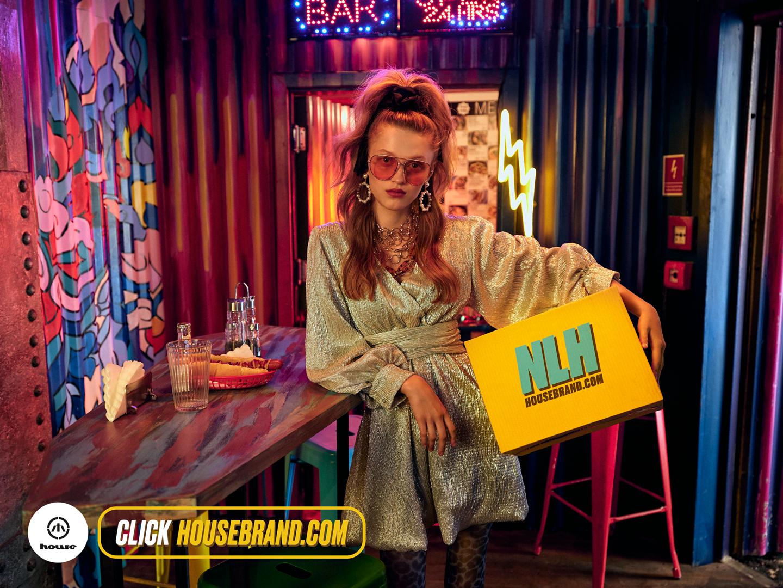 House AW19 Fashion Campaign styled by Janek Kryszczak