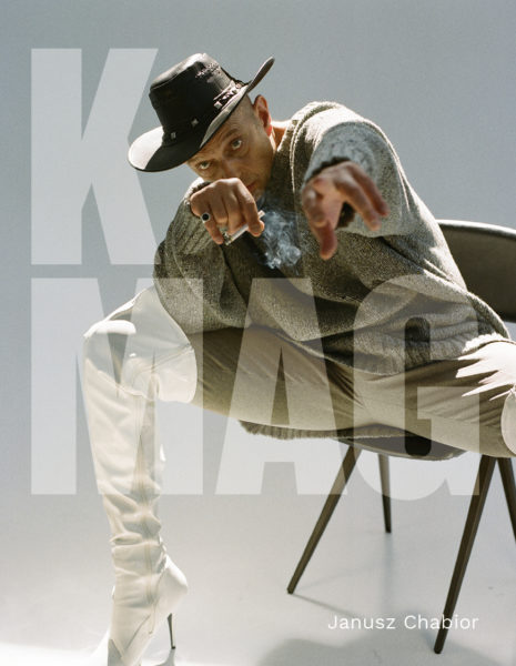 Cover Story for K Mag with Janusz Chabior styled by Janek Kryszczak