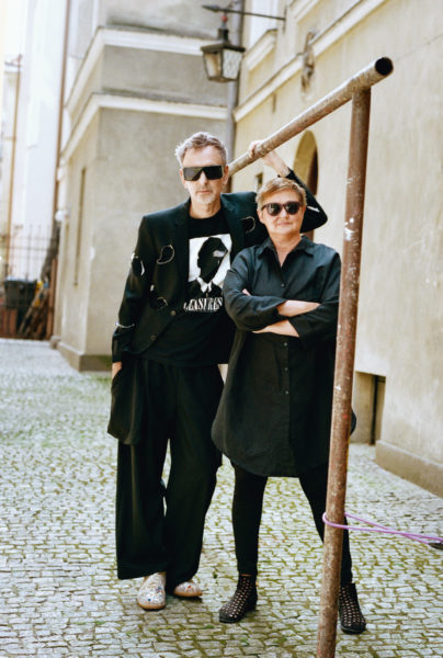 Portrait of Janusz Noniewicz and Magdalena Sroda for Vogue Polska