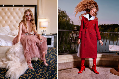 Fashion editorial Trends Aw19 for Wysokie Obcasy Extra produced by ART FACES