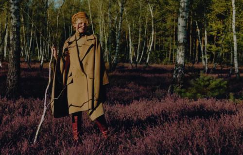 Fashion editorial for Uroda Zycia Magazine with makeup by Magdalena Winska