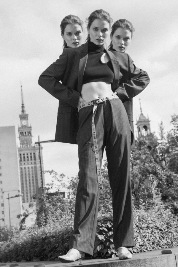 Fashion editorial for Normcore Magazine photographed by Ala Wesolowska