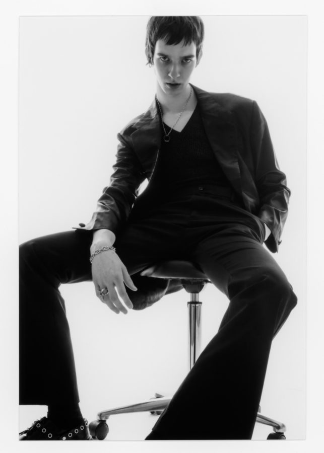 Mens editorial for Numero Berlin photographed by Lola Banet