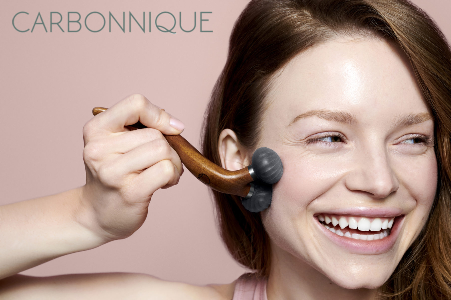 Beauty commercial for Carbonnique photographed by Ala Wesolowska