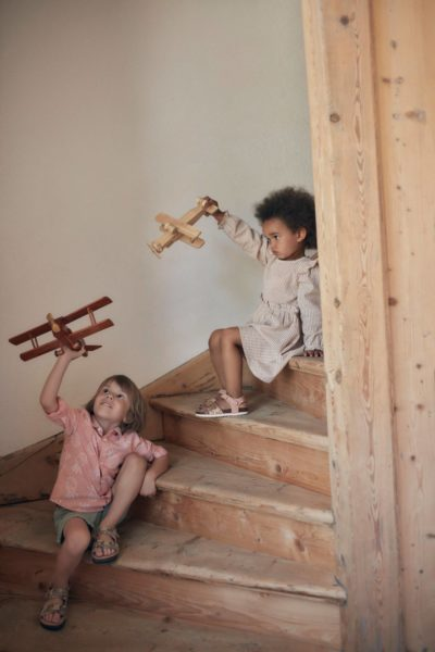 Commercial shoot for Reserved Kids with styling by Janek Kryszczak