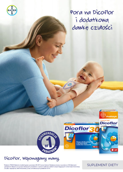 Advertising for Dicoflor photographed by Ala Wesolowska