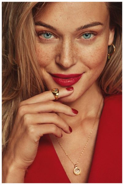 Commercial for Berries & Co by makeup artist Kama Jankowska