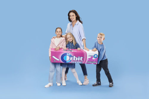 Advertising for Orbit photographed by Ala Wesolowska