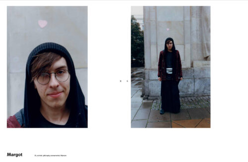 Cover Story for Art Faces Zine photographed by Yan Wasiuchnik
