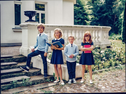 Commercial for Reserved Kids styled by Janek Kryszczak