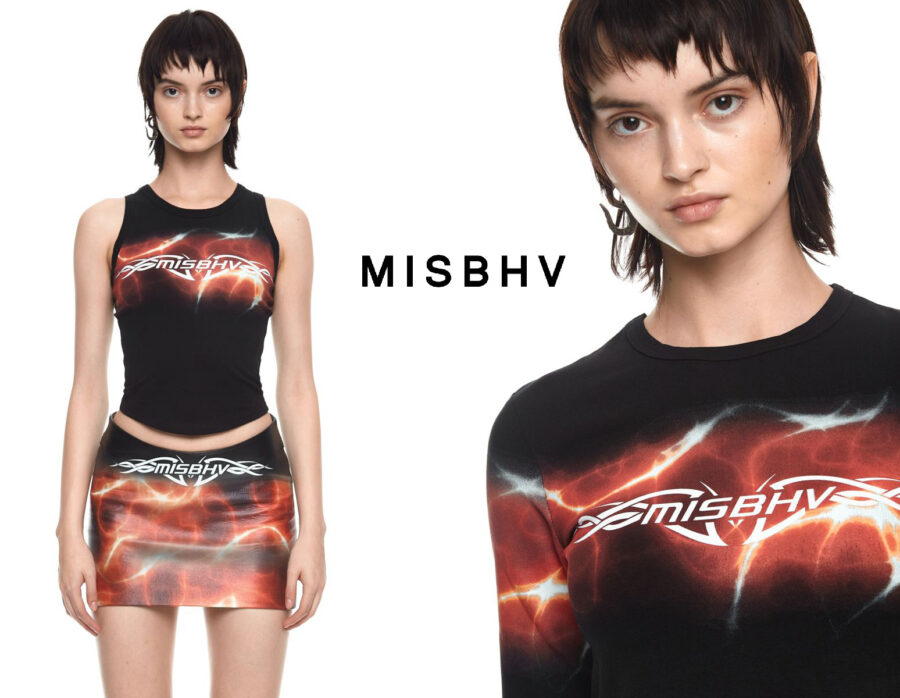 Commercial for MISBHV with makeup & hair by Magdalena Winska