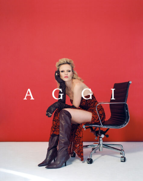Commercial for Aggi with makeup by Kama Jankowska