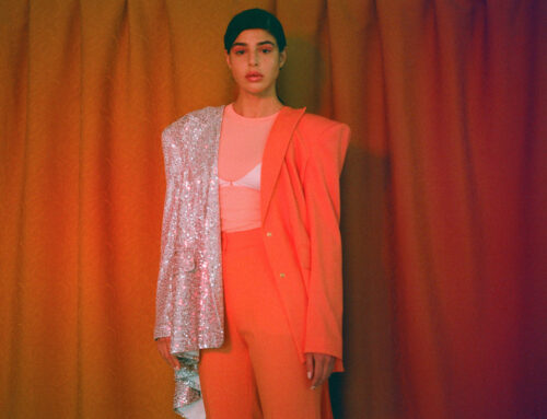 Fashion editorial for Etam x K Mag with makeup by Aga Brudny