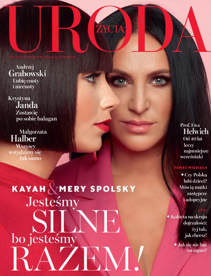 Portrait editorial for Uroda Życia by stylist Janek Kryszczak