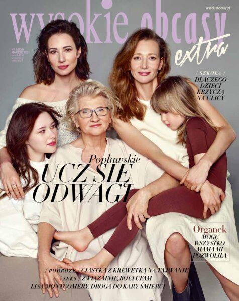 Cover story for Wysokie Obcasy Extra styled by Janek Kryszczak