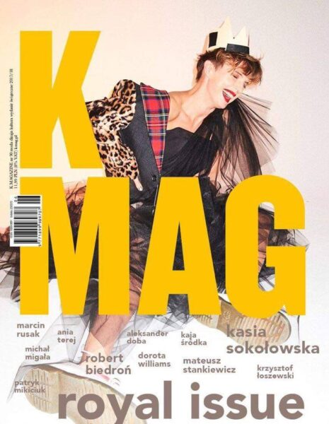 Cover for K Mag styled by Janek Kryszczak