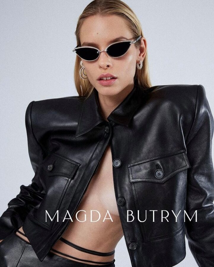 Commercial for Magda Butrym with makeup by Aga Brudny