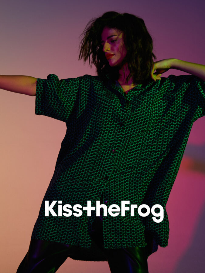 Commercial for Kiss The Frog with hair style by Michal Pasymowski