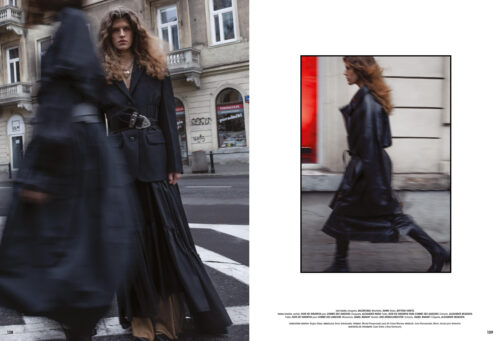 Editorial for L'offciel Argentina with hair by Michał Pasymowski