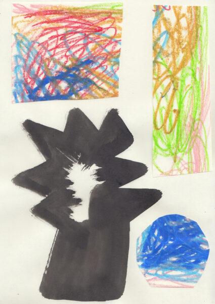 Illustration for Art Faces Zine by Robert Kuta