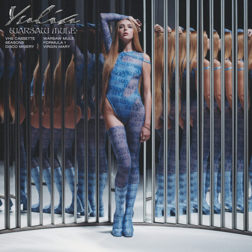 Album cover for Yulia photographed by Lola Banet