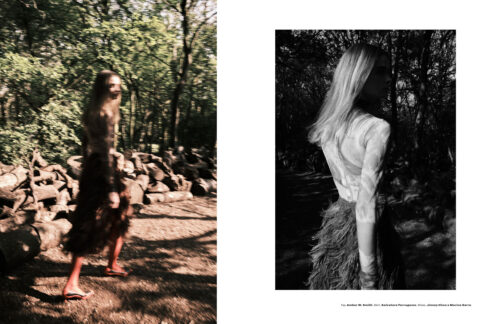 Fashion editorial for L'officiel Malaysia photographed by Natalia Holland