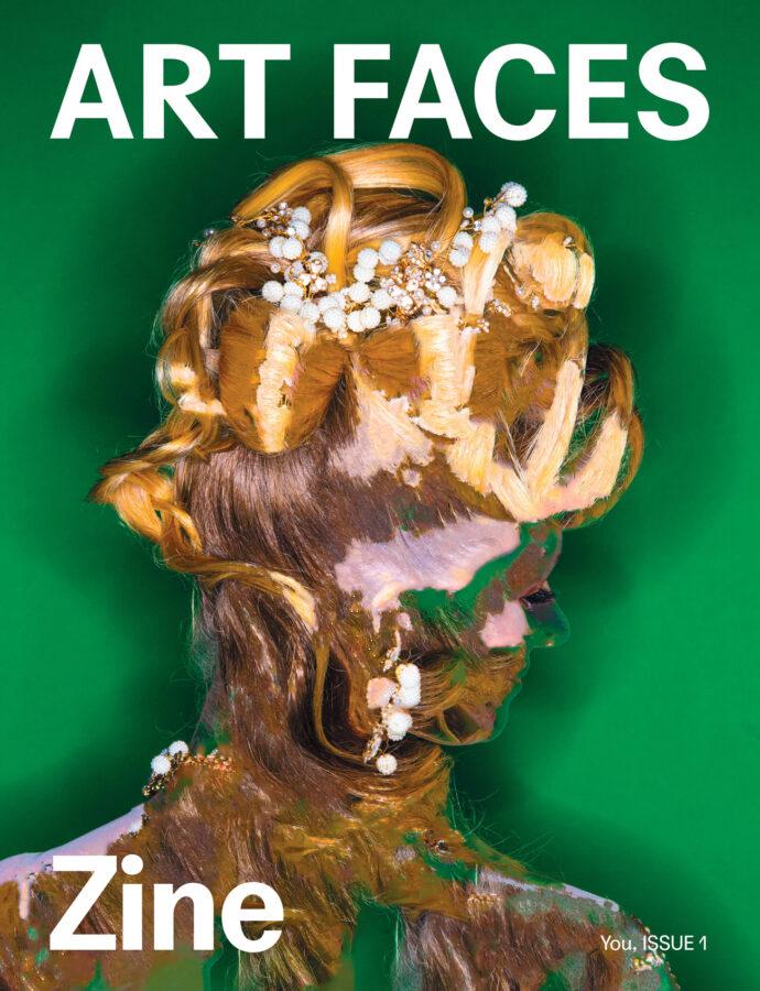Cover Story for Art Faces Zine photographed by Karolina Wojtas