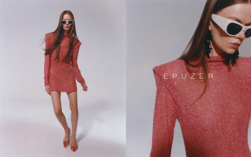 Commercial for Epuzer with makeup by Aga Brudny